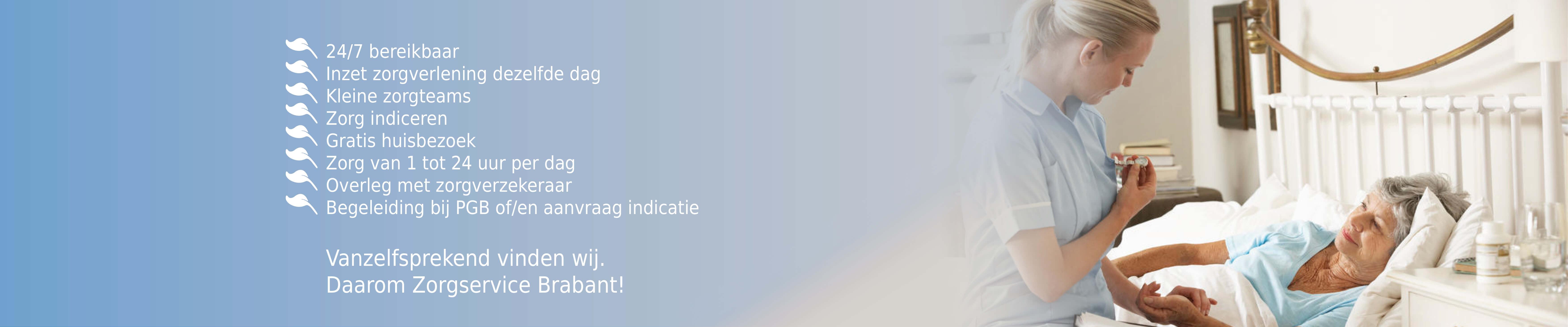 Zorgservice Brabant voordelen2.4