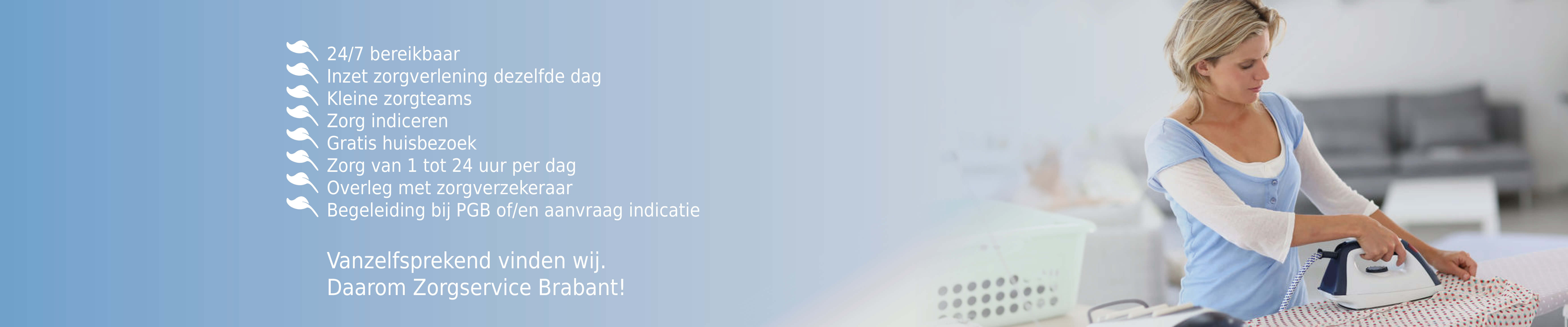 Zorgservice Brabant website verbeteringen 2